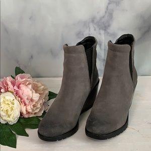 Sorel Joan women's Dark Gray Winter Bootie 8
